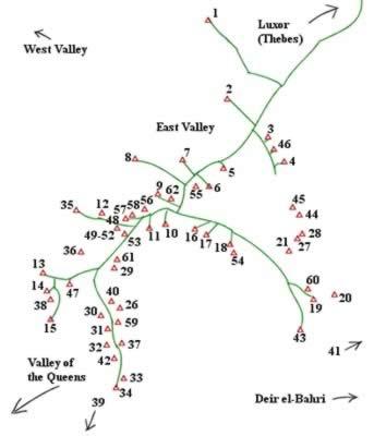 Las Tumbas del Valle de los Reyes