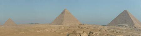 Piramides de Giza: panoramica en 360