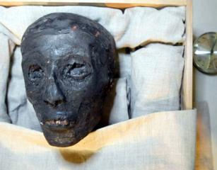 El rostro de Tutankamon
