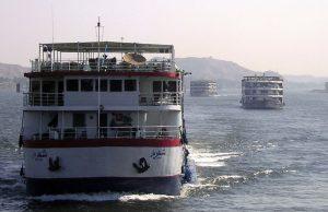 Barcos en el Nilo