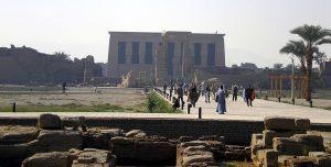 Templo Hathor cerca de Luxor
