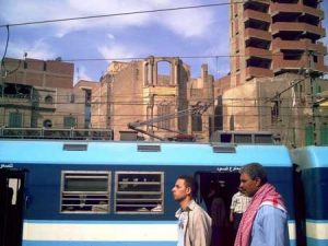 El Cairo: Metro exterior